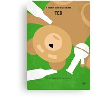 No519 My TED minimal movie poster Canvas Print
