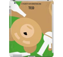 No519 My TED minimal movie poster iPad Case/Skin