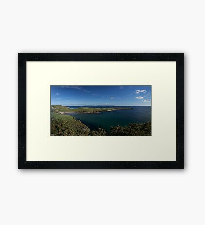 Muckross Head, Donegal, Ireland Framed Print
