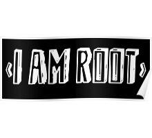 Computer qutoe: I am root Poster