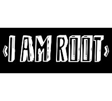 Computer qutoe: I am root Photographic Print