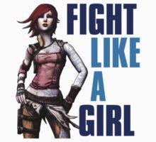 Fight Like a Girl (Borderlands) by potterstinks