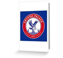 Crystal Palace Football Greeting Card