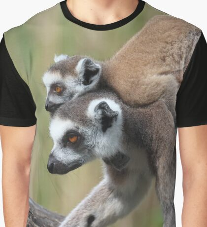 Ring-tailed Lemurs Graphic T-Shirt