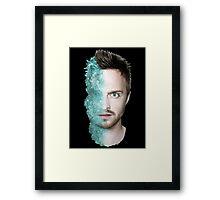 Jssse Pinkman/Meth head Framed Print