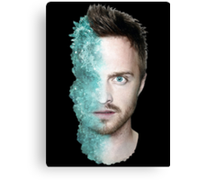 Jssse Pinkman/Meth head Canvas Print