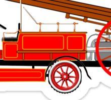 1914 Dennis Fire Engine Sticker