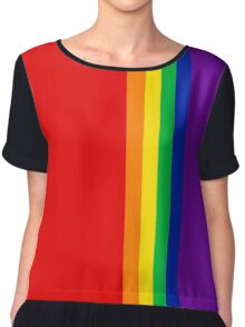 Proud (Homosexual/Homoromantic) Chiffon Top