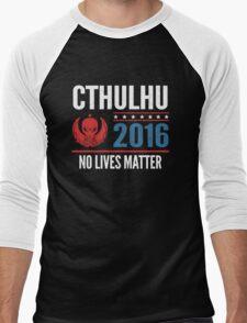Cthulhu 2016 no lives matter Men's Baseball ¾ T-Shirt