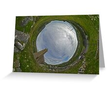 Glencolmcille Church - Sky In Greeting Card