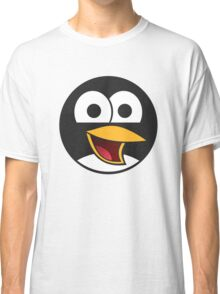 Angry tux Classic T-Shirt