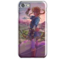 Breath of wild Link iPhone Case/Skin