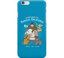 Hagrid's Home for Magical Creatures iPhone Case/Skin