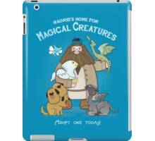Hagrid's Home for Magical Creatures iPad Case/Skin