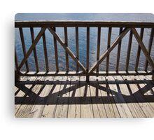 The Confounded Bridge Canvas Print