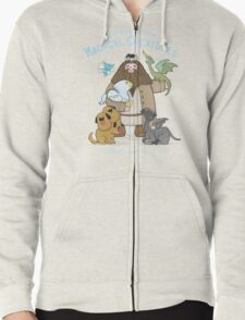Hagrid's Home for Magical Creatures Zipped Hoodie