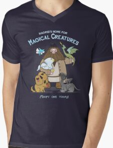 Hagrid's Home for Magical Creatures Mens V-Neck T-Shirt