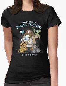 Hagrid's Home for Magical Creatures Womens Fitted T-Shirt