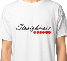 Straight 6 red Classic T-Shirt