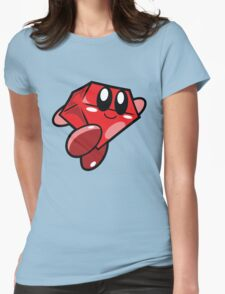 Cool ruby Womens Fitted T-Shirt