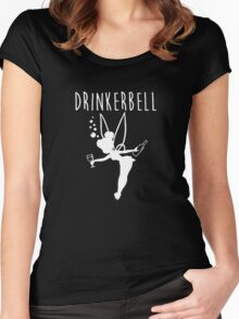 Drinker bell Women's Fitted Scoop T-Shirt