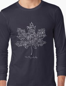 THE TRAGICALLY HIP - typography edition white summer tour 2016 copy Long Sleeve T-Shirt
