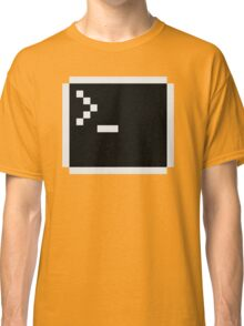 Linux command prompt Classic T-Shirt