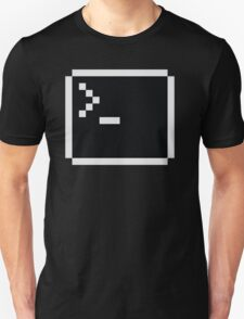 Linux command prompt Unisex T-Shirt