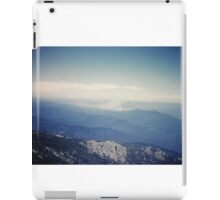 Clear Mountains iPad Case/Skin
