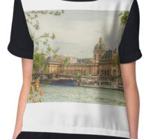 Institut de France by the Seine Chiffon Top