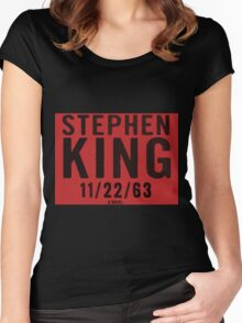 11. 22. 63 Women's Fitted Scoop T-Shirt
