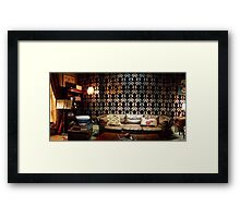 221B Living Room Framed Print