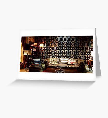 221B Living Room Greeting Card