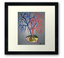 Spleen and bloodsupply Framed Print