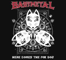 Babymetal-Here Comes The Fox God (Unofficial) One Piece - Short Sleeve