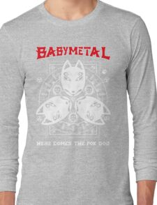 Babymetal-Here Comes The Fox God (Unofficial) Long Sleeve T-Shirt