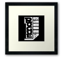 Rogue 1 - Inverted Framed Print