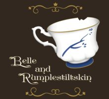 Belle and Rumplestiltskin's cup T-Shirt