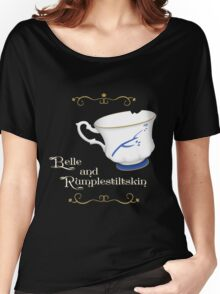 Belle and Rumplestiltskin's cup Women's Relaxed Fit T-Shirt