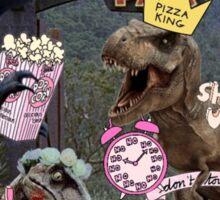 Sassy Jurassic Park Sticker