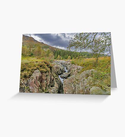 The River Duddon Lake District Greeting Card