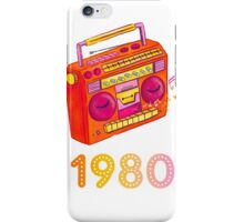 1980 iPhone Case/Skin