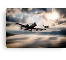 A10 Mountain Mission Canvas Print