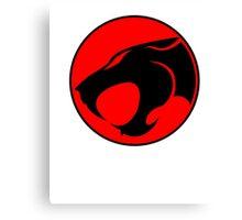 Thundercats Japanese Kanji Canvas Print