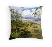 The Duddon Valley Throw Pillow