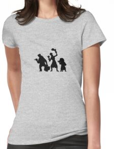Haunted Mansion Hitchhiking Ghosts Womens Fitted T-Shirt