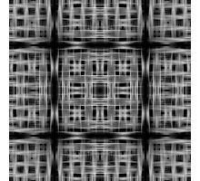 Speed lines grid pattern Photographic Print