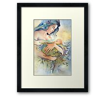 GAIA - Mather and Child Framed Print