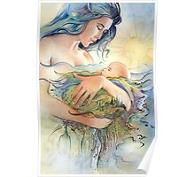 GAIA - Mather and Child Poster