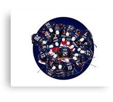 hockey team USA Canvas Print